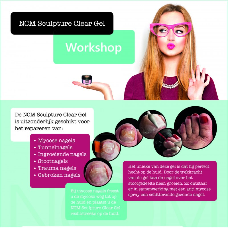 WORKSHOP NCM NAGELCORRECTIE MYCOSENAGELS